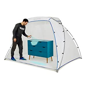 Nordstrand Portable Spray Paint Booth - Airbrush Spray Paint Shelter Tent - DIY Hobby Painting Station