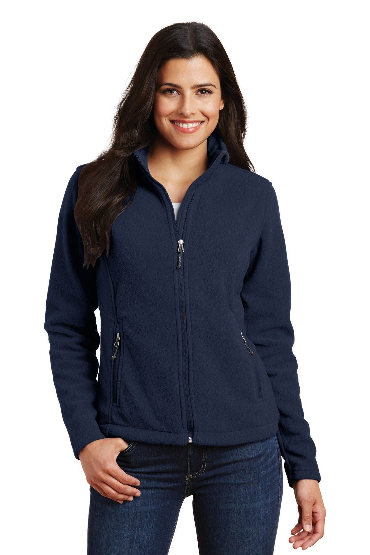 Port Authority Ladies Value Fleece Jacket, True Navy, Small