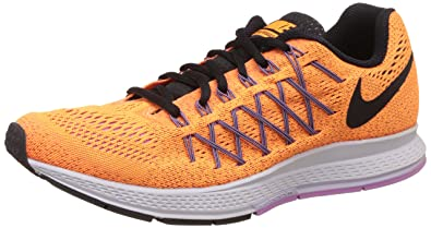 superior quality 458b4 69bb8 Nike Womens Air Zoom Pegasus 32 Bright Citrus Black Vlt Frst Running Shoe 8