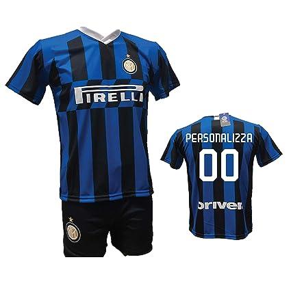 Completo Calcio Maglia Inter Personalizzabile e Pantaloncino