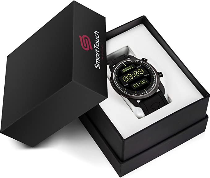 Amazon.com: Smart Touch ST66 4G LTE - Reloj inteligente para ...