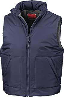 Result Fleece lined bodywarmer