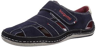 Bugatti F80673, Herren Geschlossene Sandalen, Blau (dunkelblau 425), 48 EU 5a76de8820