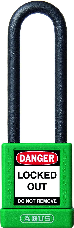 Abus 74/40HB75 verde - Candado no conductor para seguridad 40mm arco extra largo verde 58984