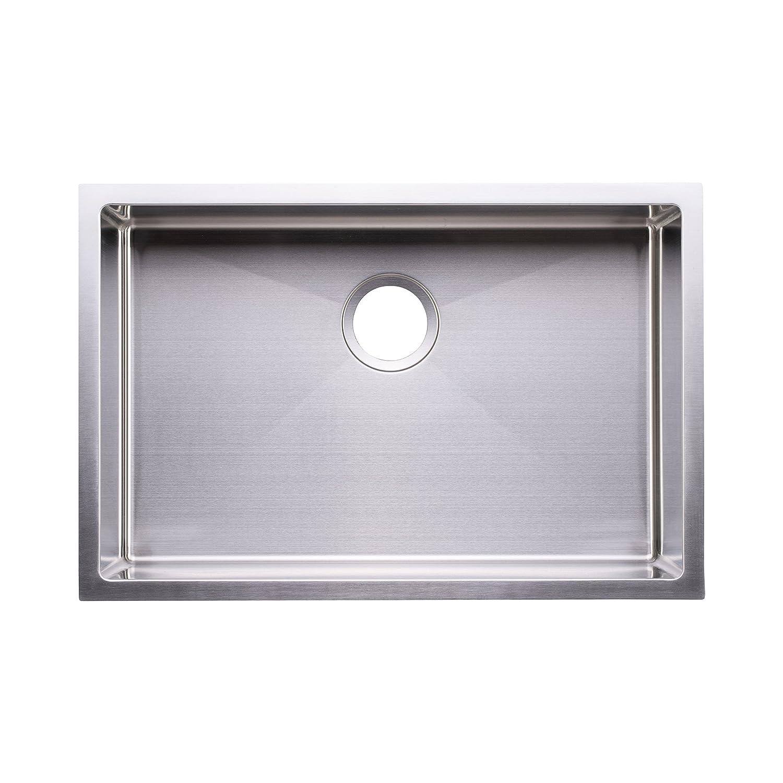 bai 1221 27 handmade stainless steel kitchen sink single bowl