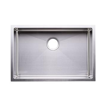 Bai 1221 27 Quot Handmade Stainless Steel Kitchen Sink Single Bowl Under Mount