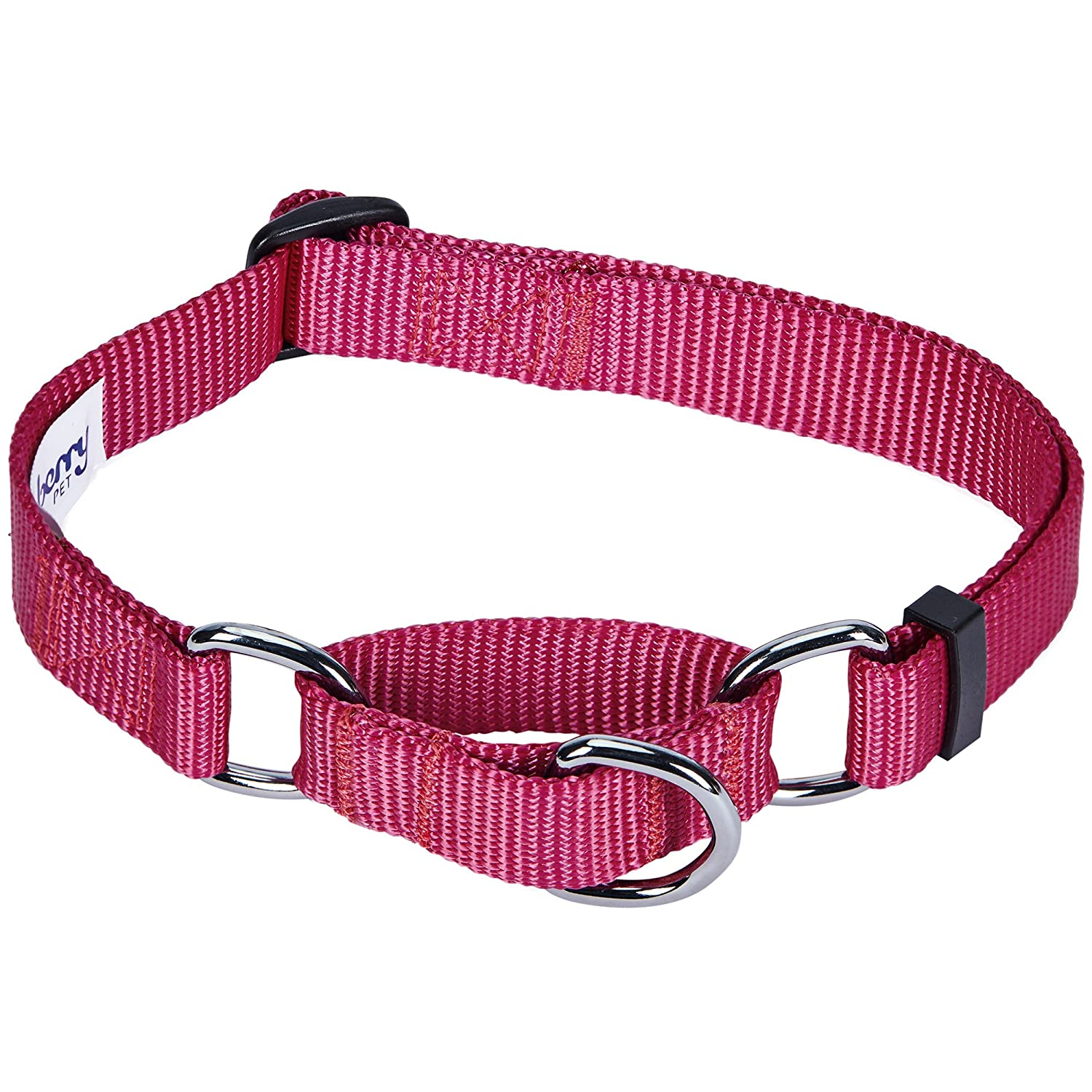 Personalized Collars or Seatbelts Martingale Collars Regular Collars Blueberry Pet Classic Solid Color Collection
