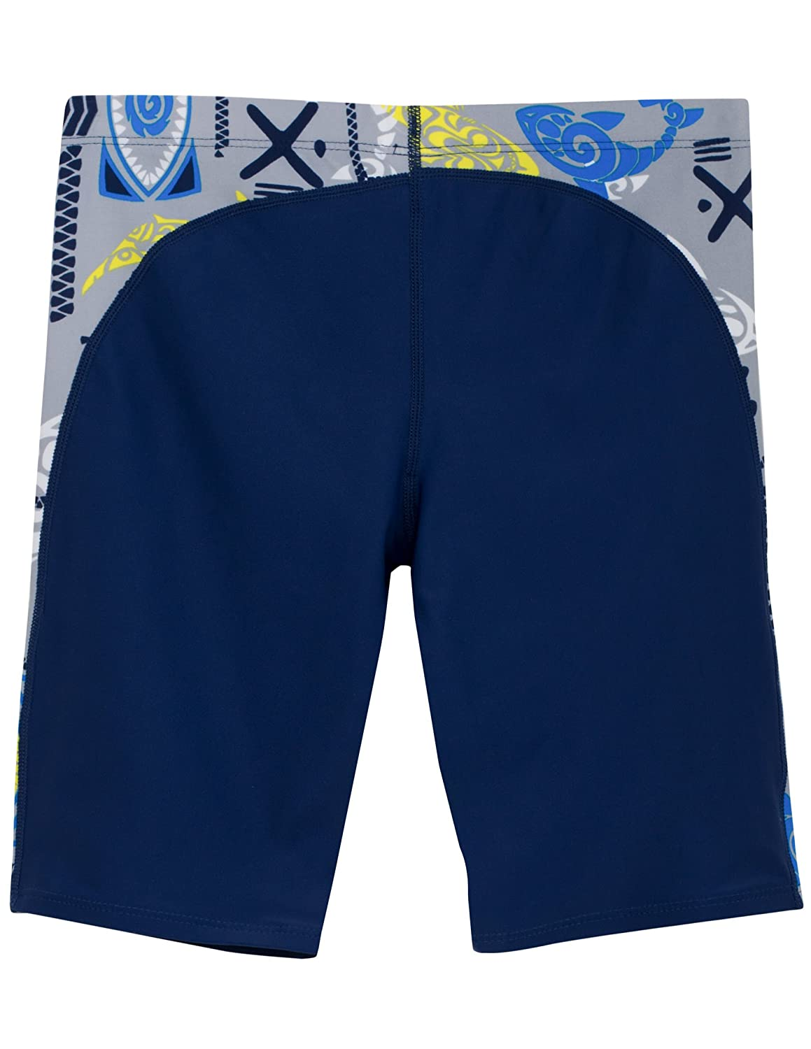 Tuga Boys Two-Piece Short Sleeve Swim Suit Set 2-14 Years Swimwear UPF 50