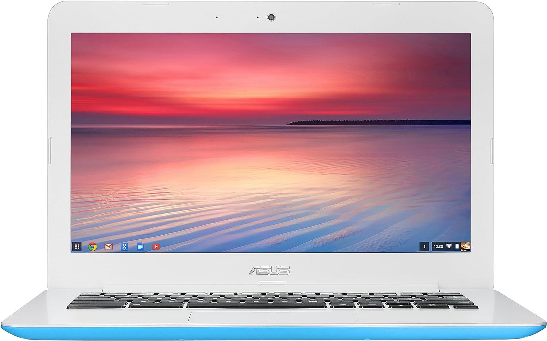 ASUS Chromebook C300MA 13.3 Inch (Intel Celeron, 2 GB, 16GB SSD, Light Blue)