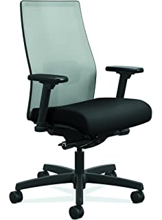 Superbe HON Ignition 2.0 Mid Back Adjustable Lumbar Work Chair   Fog Mesh Computer  Chair For