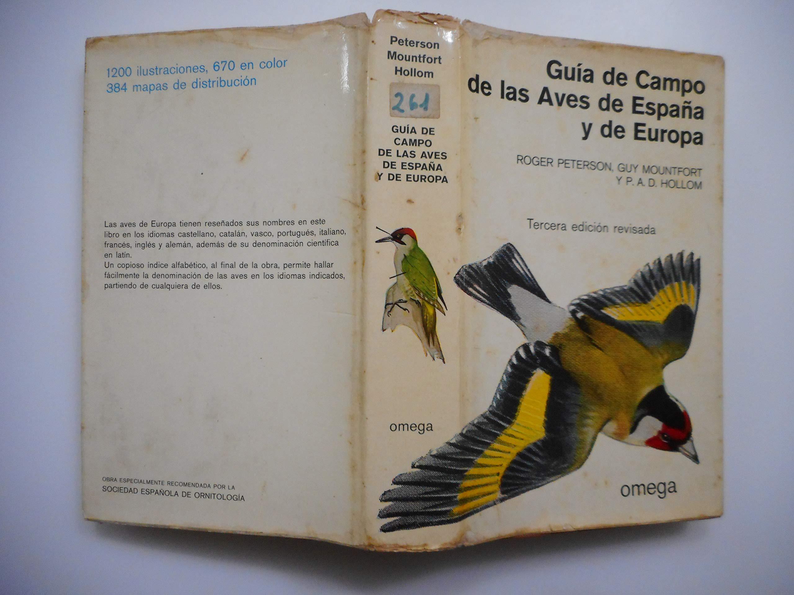 Guía de campo de las aves de España y de Europa: Amazon.es ...