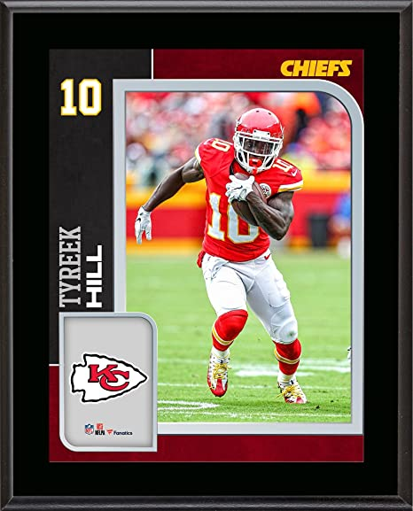 the latest 9a8be 4868d Amazon.com: Tyreek Hill Kansas City Chiefs 10.5'' x 13 ...