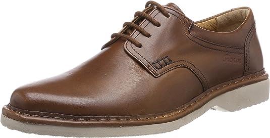 TALLA 39.5 EU Ancho. Sioux Herlof-702-xl, Zapatos de Cordones Derby para Hombre