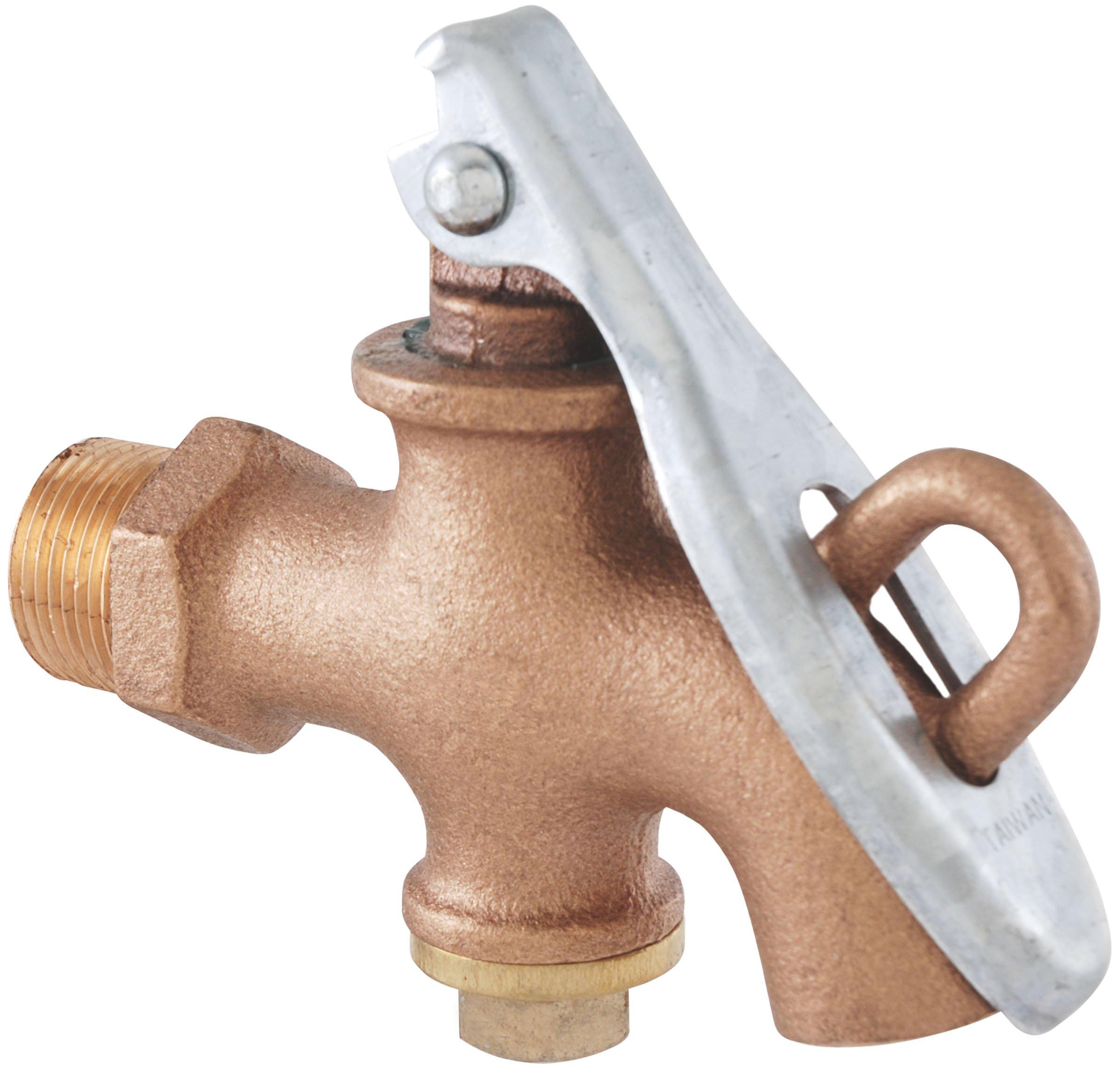 LDR 020 9904 3/4-Inch Barrel Drum Lockable Faucet, Bronze