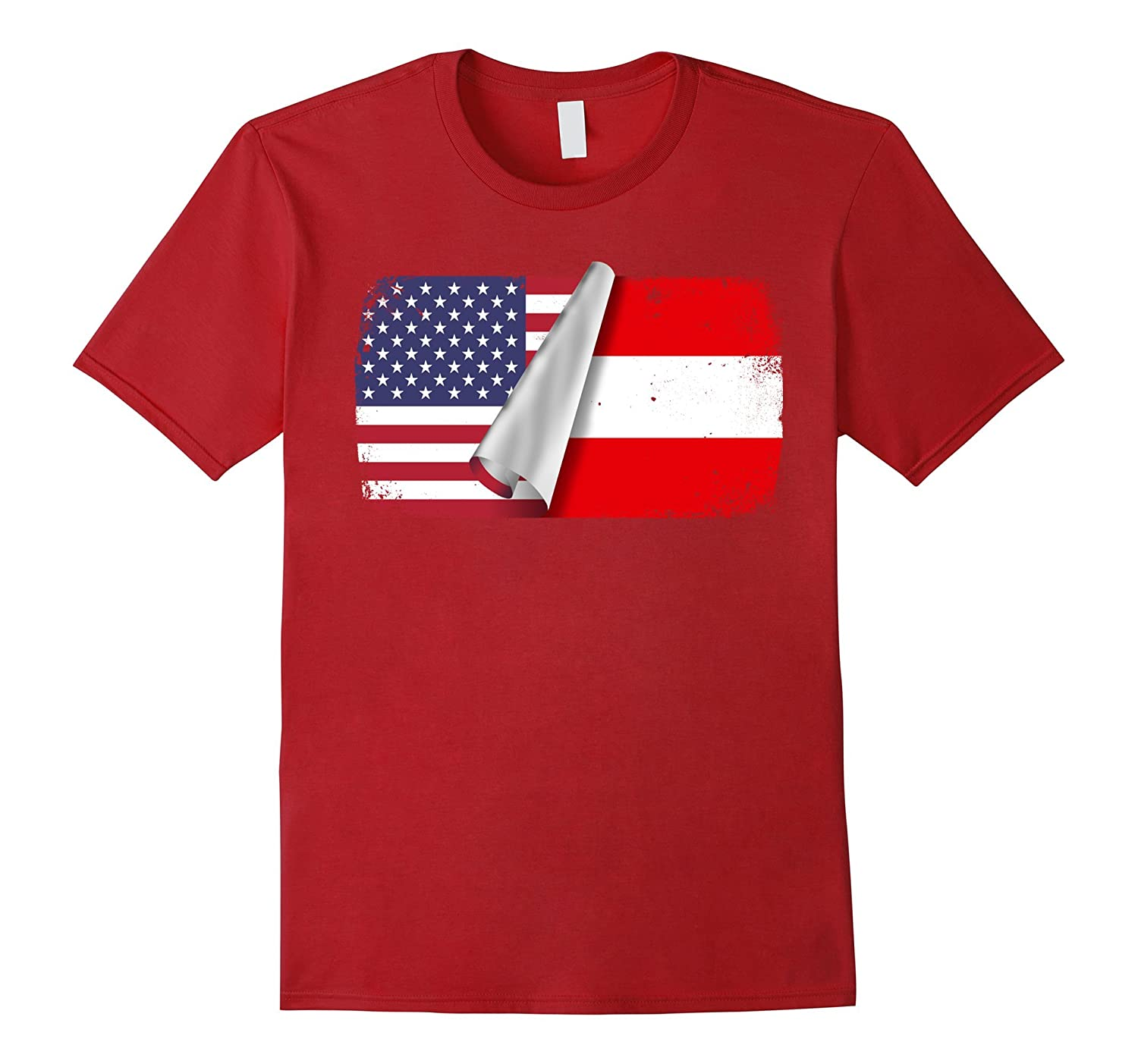 Austria living in USA Shirt-TH
