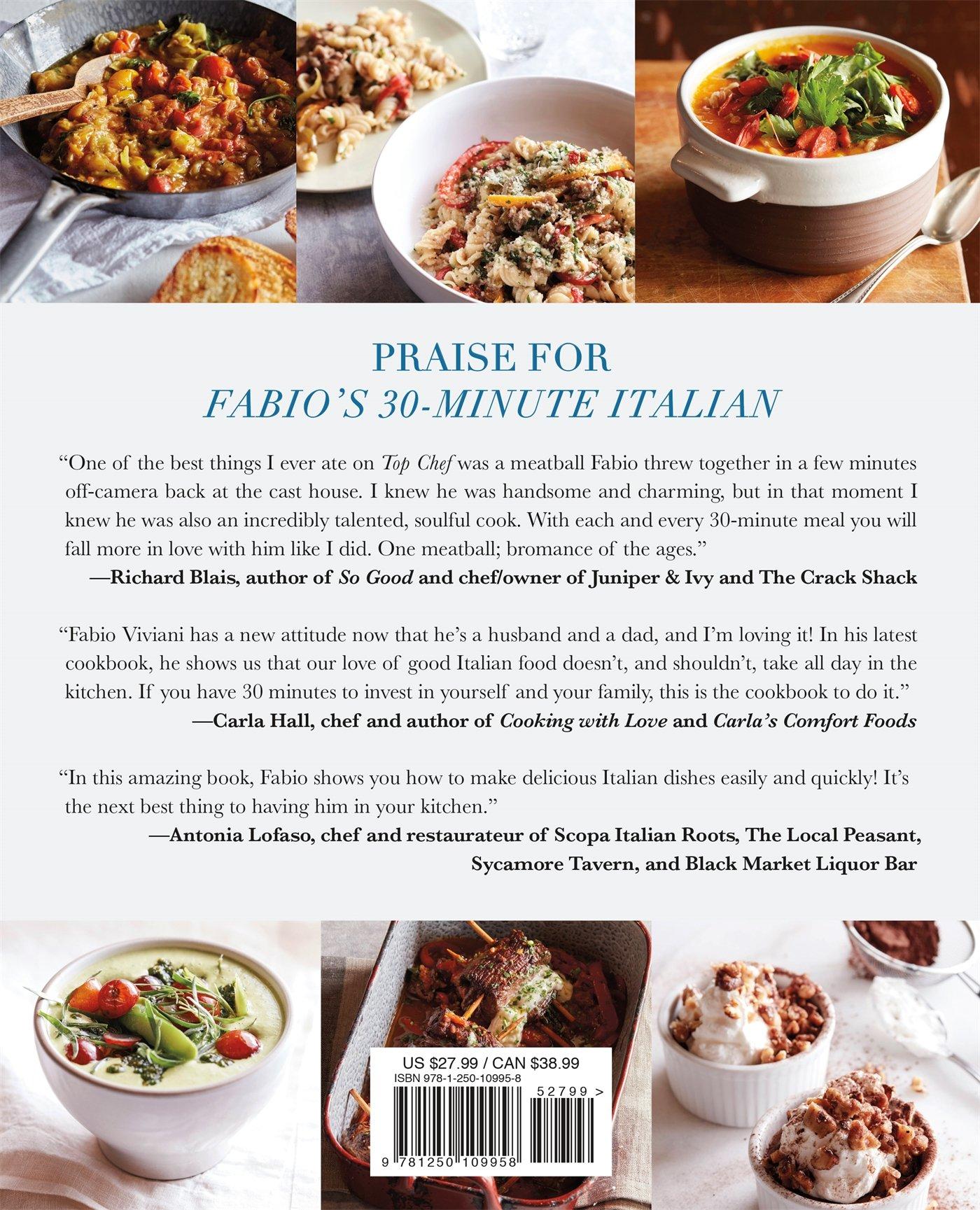 Fabio\'s 30-Minute Italian: Over 100 Fabulous, Quick and Easy Recipes ...