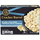 Cracker Barrel Parmesan White Cheddar Macaroni & Cheese Dinner, 12 oz (Pack of 12)