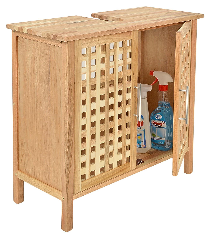 waschbecken mit unterschrank holz. Black Bedroom Furniture Sets. Home Design Ideas
