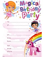 Pack Of 20 Childrens Birthday Party Invites