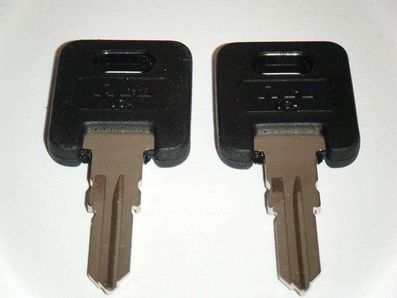 Ilco RV Motorhome Trailer Keys Cut to Lock//Key Number from HF301 T0 HF325 Working Keys Travel Trailer Motor Home Toy Hauler Keys HF324