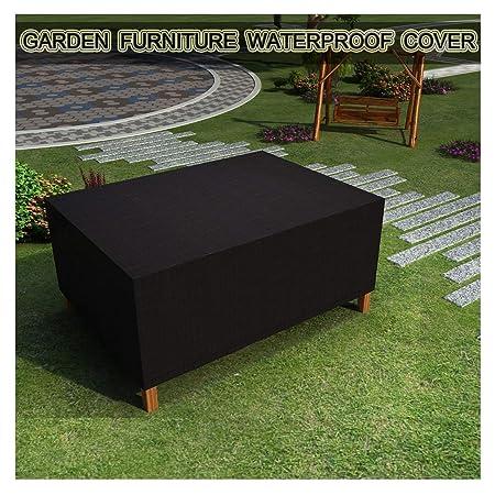 Funda para Muebles de Jardín, Tela Oxford 420d Fundas para Mesas ...