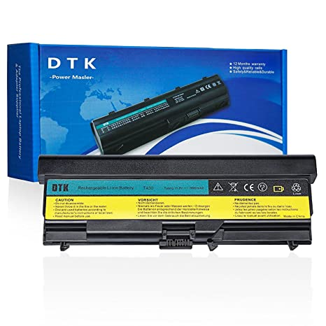 DTK Nueva Portátil Batería de Repuesto para Lenovo Ibm Thinkpad W530/W530i/L430/