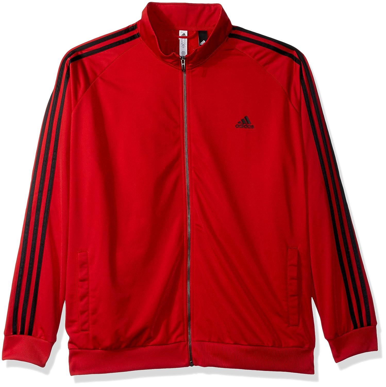 E 'Essenziale 3 Strisce Adidas Uomini Tricot Traccia Giacca
