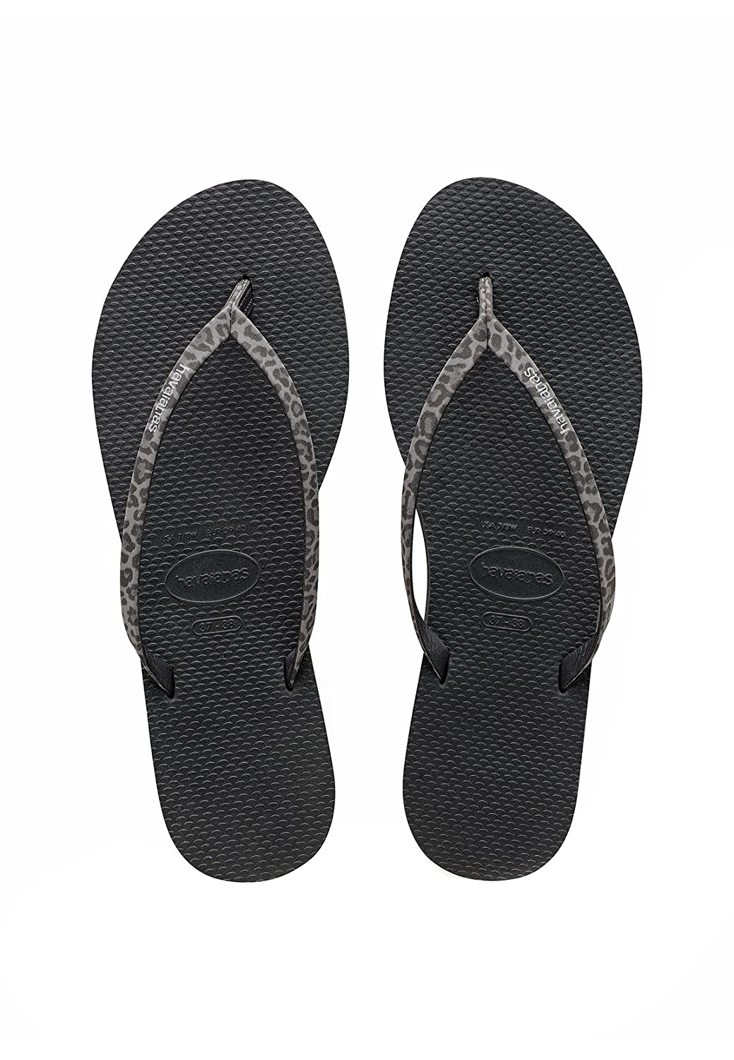 bc302fee0e1b Havaianas Women s You Animals Flip Flops Animal Print Strap  Amazon.co.uk   Shoes   Bags