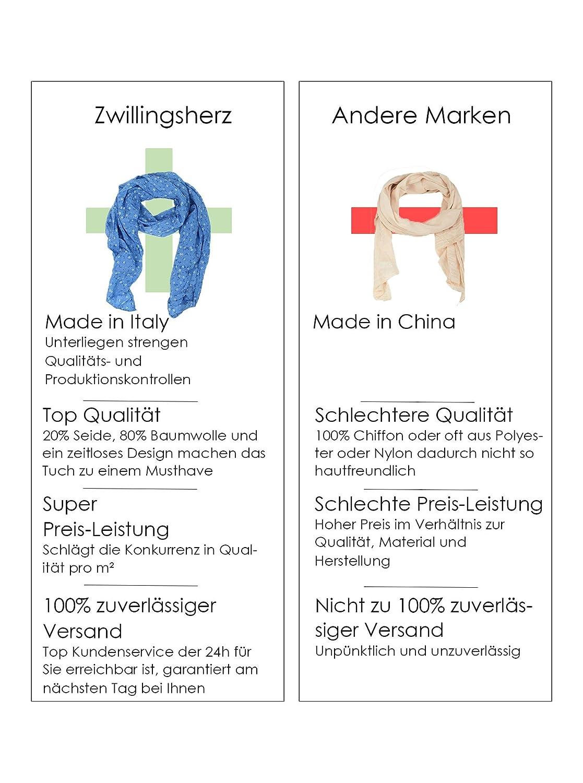 Kurt Kölln Pañuelo para mujer / Bufanda flores (azul): Amazon.es: Ropa y accesorios