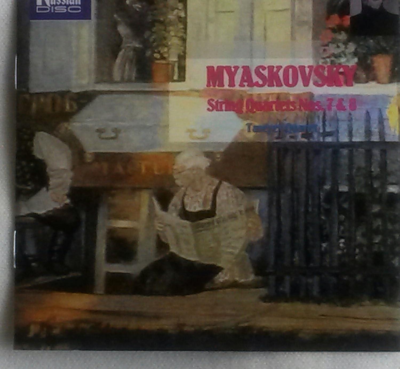 Miaskovsky: String Quartets 7 & 8
