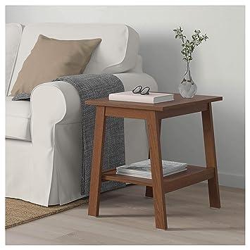 IKEA ASIA LUNNARP - Mesa Auxiliar, Color marrón: Amazon.es ...