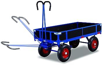 Mano camas carro con Bord pared Carga (kg): 700 ladefläche: 985 x 680 mm RAL 5010 Azul genciana: Amazon.es: Bricolaje y herramientas