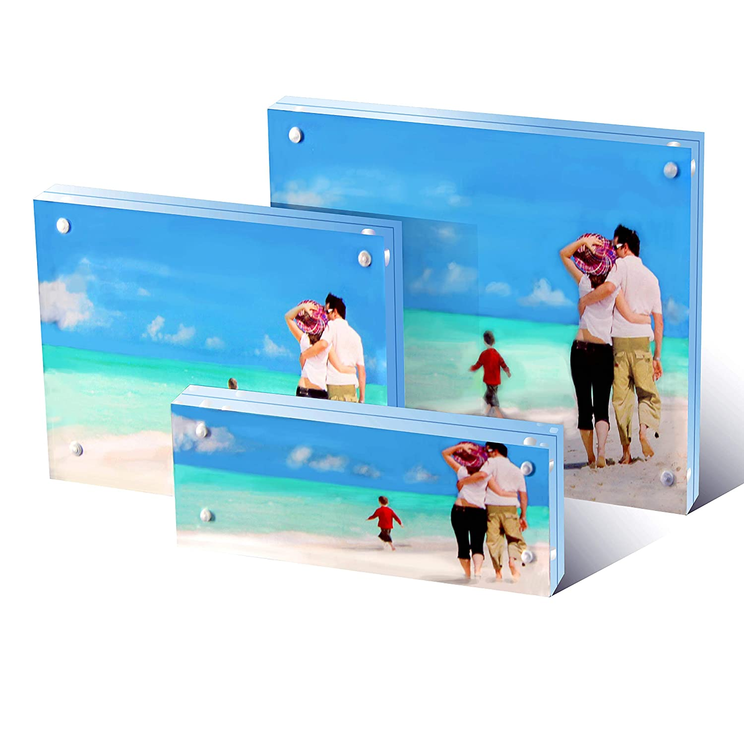 Magnetic Photo Booth Frame fit 2x6 picture Magnet frame 300 pack magnetic frame