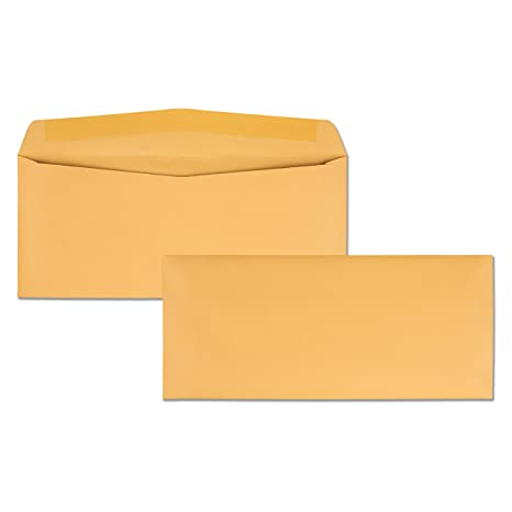 amazon com quality park kraft envelopes 11 4 1 2 x 10 3 8 28lb