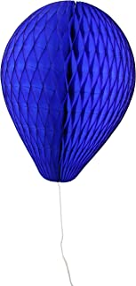 product image for 3-Pack 11 Inch Honeycomb Tissue Paper Balloon (Dark Blue)