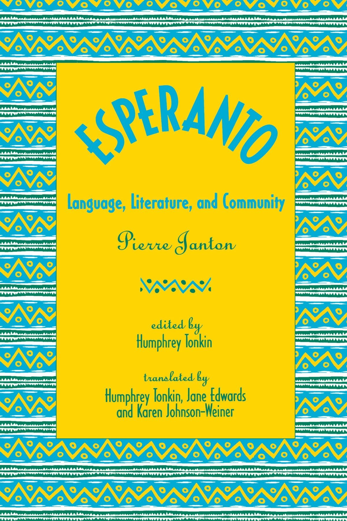 Esperanto  Language Literature And Community