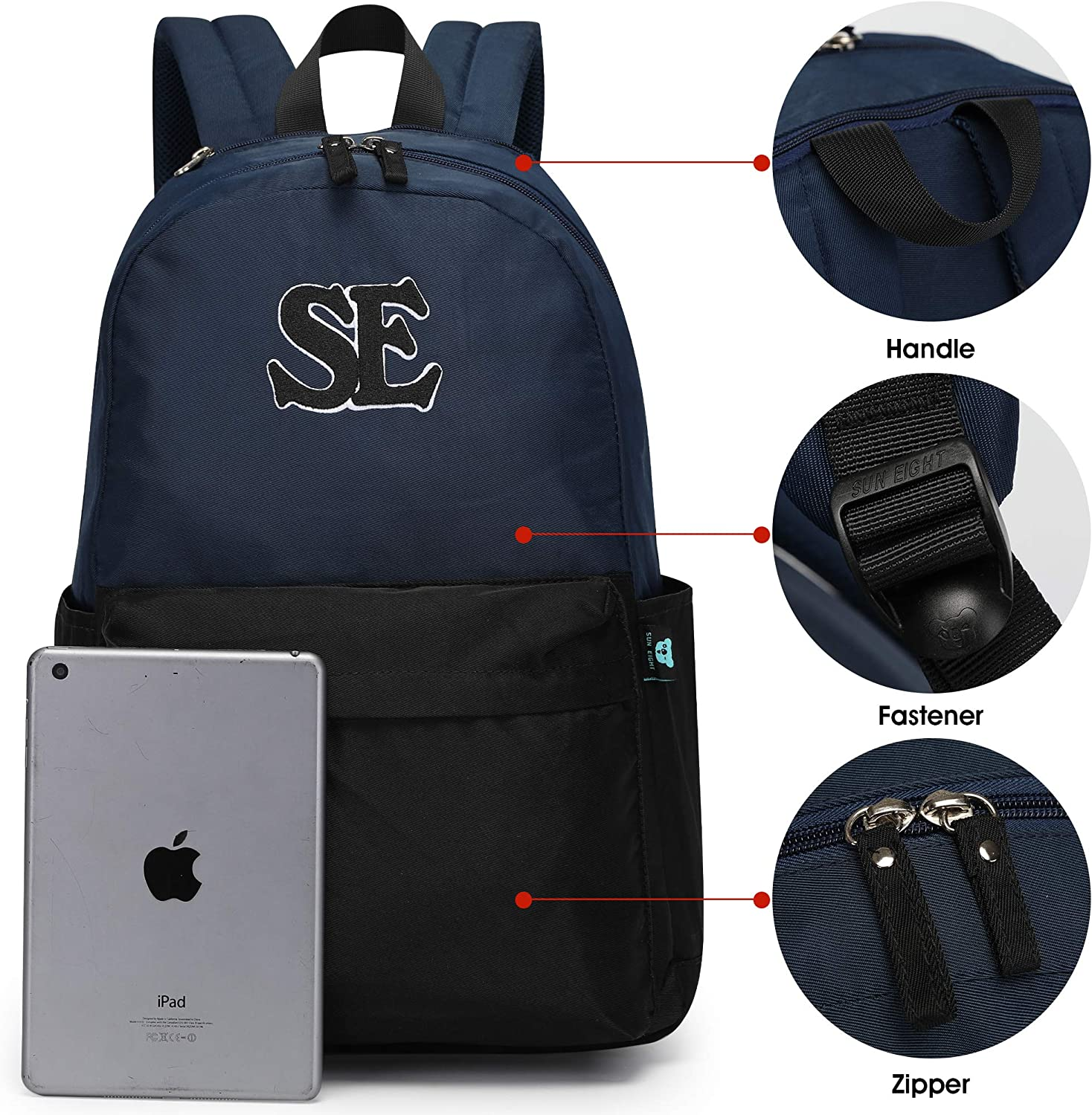 Caran/·Y School Backpack for Boys and Girls Travel Backpack /…