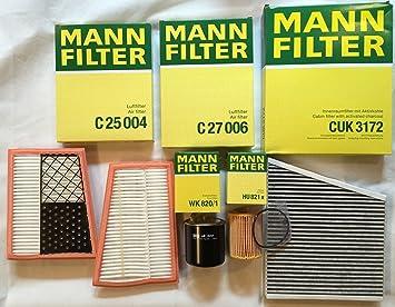 Mann Filter Filter Set Insepktionsset W211 280 Cdi 320 Cdi S211 Auto