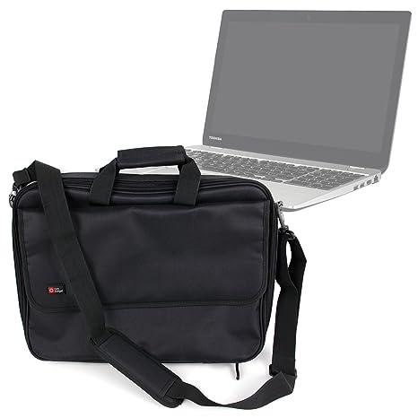 Funda negra para ordenador portátil Toshiba SATELLITE U50T-A-10F, TECRA A50-