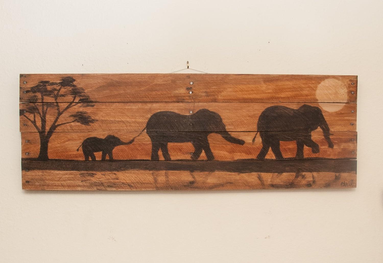 Amazon Com Elephant Painting Elephant Decor Elephant Art Nursery
