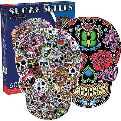 Aquarius Sugar Skulls Jigsaw Puzzle: Toys & Games