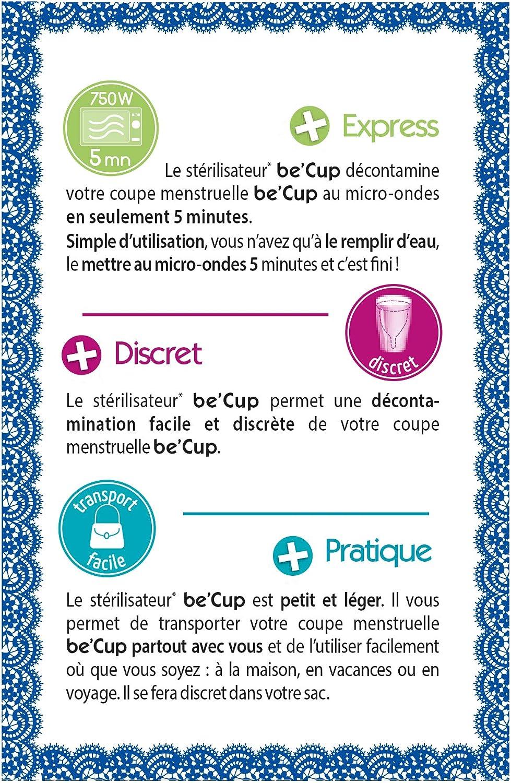 Be cup esterilizador de copa menstrual None