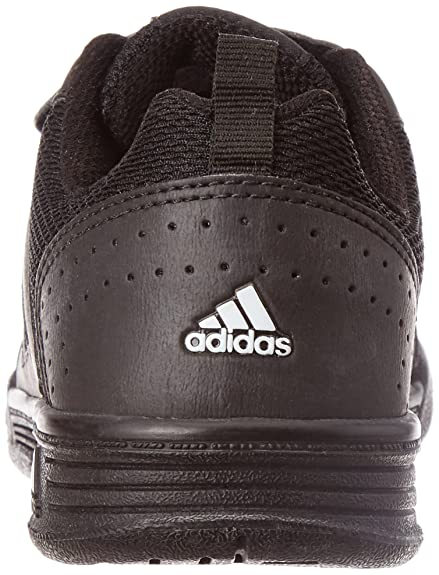 49505a74ccad31 Adidas Boy s Flo K Black Formal Shoes - 1 UK India (33 EU)  Buy Online at  Low Prices in India - Amazon.in