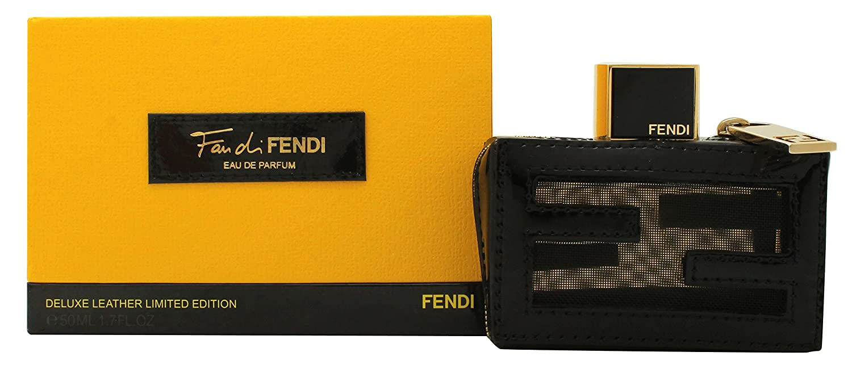 Amazoncom Fendi Fan Di Fendi Eau De Parfum Deluxe Leather Limited