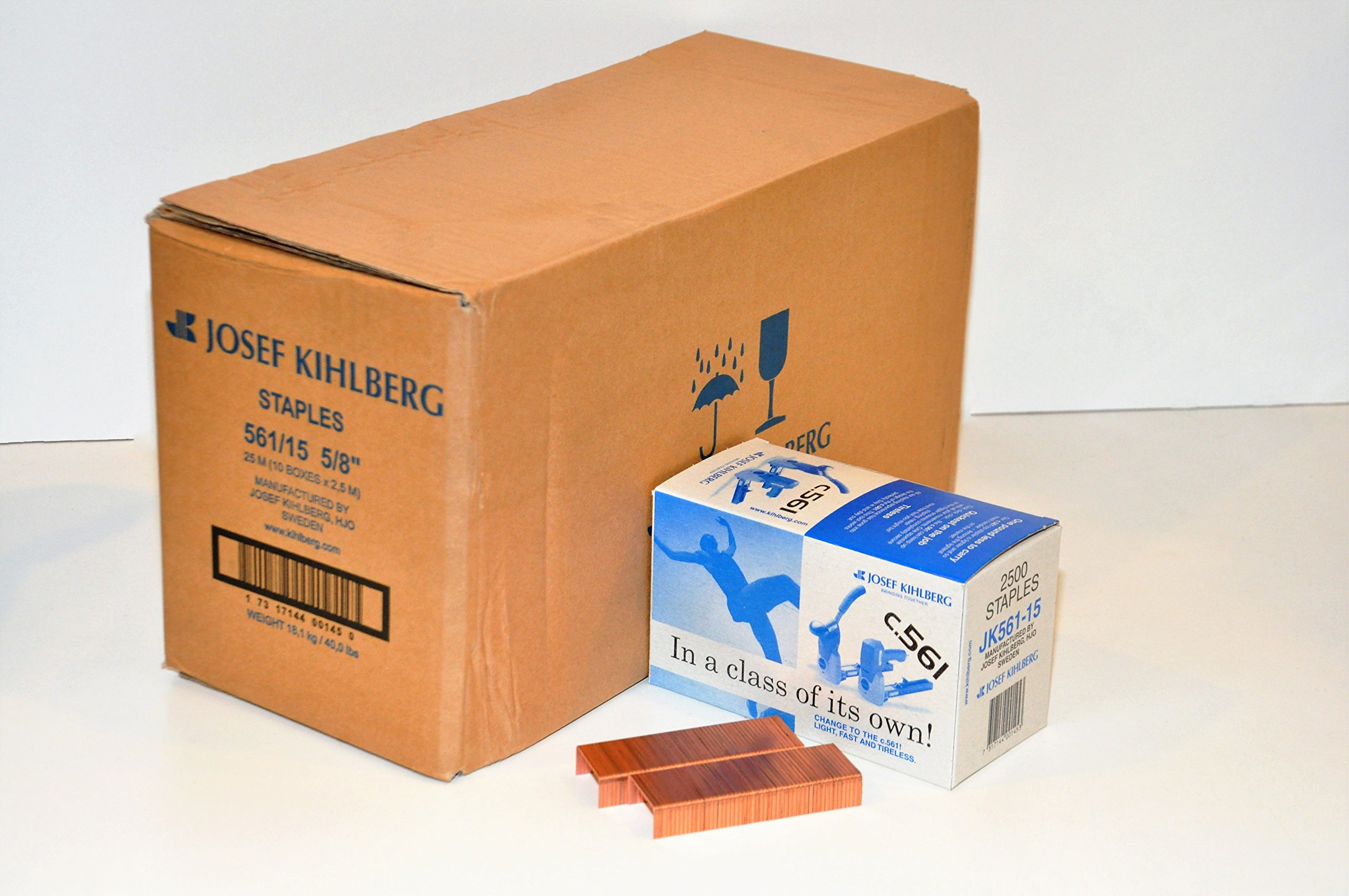 JOSEF KIHLBERG JK561-15K 5/8'' Wide Crown Carton Staple, L.F.
