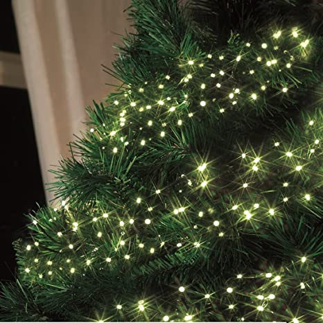 d747d23c8c2 Luz blanca cálida navidad luces led luces de control remoto cluster nite luces  para árbol jpg
