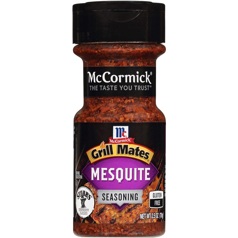 McCormick Grill Mates Mesquite Seasoning, 2.5 oz