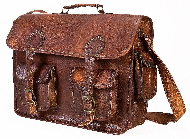 Aditya Art /& Craft Handmade Vintage Style Camera Bag// Messenger// Camera Briefcase//camera Messenger Bag//dslr Bag