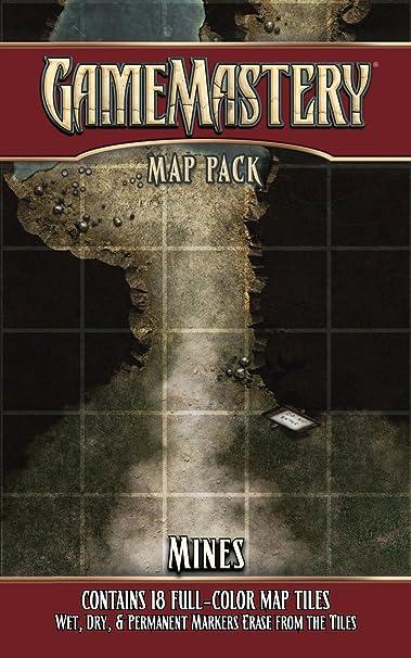 GameMastery Map Pack: Mines: Engle, Jason A., Engle, Jason A.: Amazon.es: Juguetes y juegos
