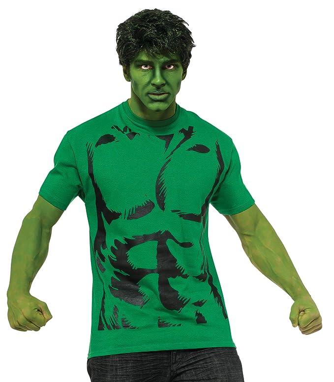 Amazon.com: Rubie s Disfraz de los hombres Marvel Hulk ...